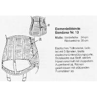 Damenleibbinde Bandana Nr. 13