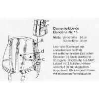 Damenleibbinde Bandana Nr. 15