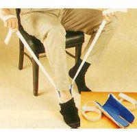 Socken- und Strumpfanzieh-Hilfe