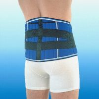 Stabile Rückenstütze, Sportbandage Rehband
