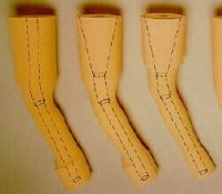 Schaumstoff-Überzug für Modular-Kniegelenk - Innenvorbringer