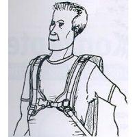 4-Punkt Rumpf-Schultergurt