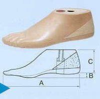 Dynamik-Fuß für Männer
