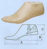 Geriatrie-SACH-Fuß, für Damen