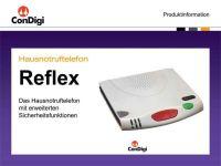 Hausnotruftelefon Reflex