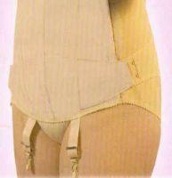 Bandana 14 kurz, Damenleibbinde aus Satin