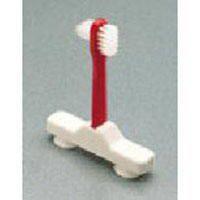 Zahnprothesen Bürste für eine Hand