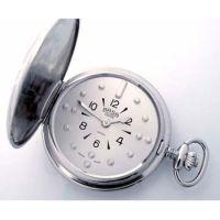Taschenuhr mit Quarzwerk (Chromgehäuse) / Taschenuhr mit Quarzwerk (Doublégehäuse)