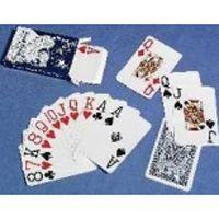 Spielkarten mit großen Ziffern
