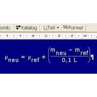 Formelprogramm LiTex Version 4.5