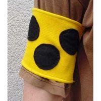 Armbinde, elastisch, 32 cm / Armbinde, elastisch, 38 cm / Armbinde, elastisch, 41 cm / Armbinde mit Reflexstreifen und Klettverschluss, 40 cm