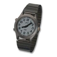 Sprechende Armbanduhr für Herren / Damen, silberfarben mit Metallzug MVAU-HSM / MVAU-DSM / Sprechende Armbanduhr für Herren / Damen, goldfarben mit Metallzug MVAU-HGM  / DGM / Sprechende Armbanduhr für Herren / Damen, silberfarben mit Lederarmband MVAU-HSL / MVAU-DSL / Sprechende Armbanduhr für Herren / Damen, goldfarben mit Lederarmband MVAU-HGL / MVAU-DGL