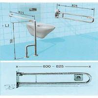 Sicherheits-WC-Stützgriff mit pneumatischer Spülkastenbetätigung