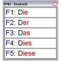 EMU Wortvorsage CD-ROM