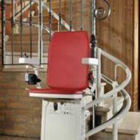 Platinum Treppenlift für Kurventreppen