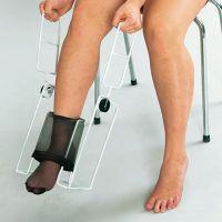 Socken- und Strumpfanziehhilfe