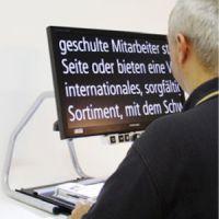Bildschirmlesegerät Visio