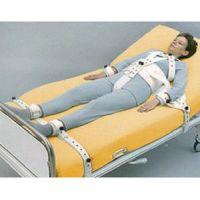 Fixierungssystem-Standard mit Schrittgurt und Magnetverschluss / Fixierungssystem-Standard mit Oberschenkelmanschetten und Magnetverschluss