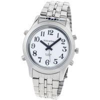 Sprechende Armbanduhr VoiceTime Gold Gentleman 598201 / Sprechende Armbanduhr VoiceTime Edelstahl Gentleman 598203