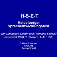 Heidelberger Sprachentwicklungstest (HSET)