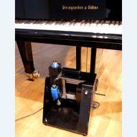 Beißschiene zur ferngesteuerten Flügel-Pedalsteuerung / Rollstuhlfahrer-Klavier Aktuator-Steuerung