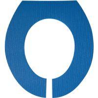 Toiletten-Auflage, Blau 5739
