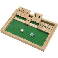 Klappbrett Spiel Shut the box