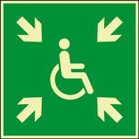 PERMALIGHT power Rettungsz.Sammelplatz....Behinderungen