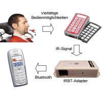 Handybedienung per Umfeldkontollgerät / IRBT-Adapter 1.1