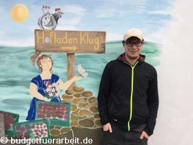 Hofladen Klug Mitarbeiter Sven Hilcher