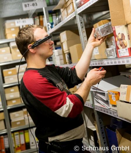 Kommissionierung mit Datenbrille