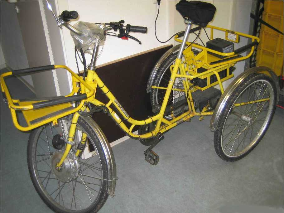 Dreirad mit E-Motor