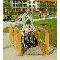 Rollstuhlwippe