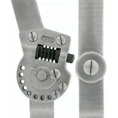 Quengel- und Bewegungsschiene -Knie-