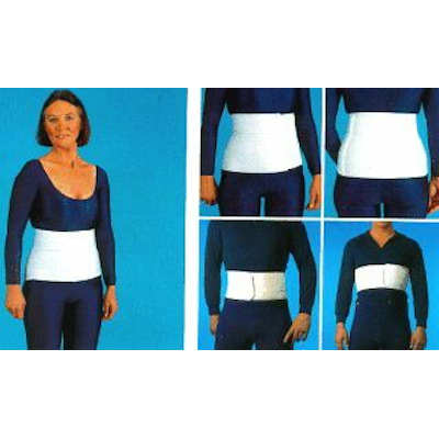 Elastoband Gürtel - mit Klettverschluss
