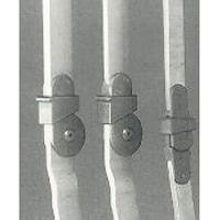 Kniegelenkschienen m. Fallschloß f. Gehorthese