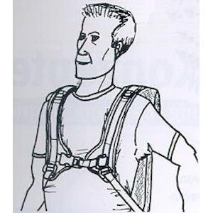 4-Punkt-Rumpf-Schultergurt
