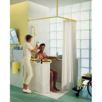 HEWI Duschspritzschutz