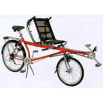 Zweirad-Tandem Pino