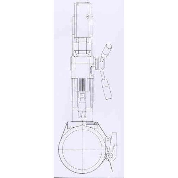 Magnetor Rohrspannvorrichtung - Skizze
