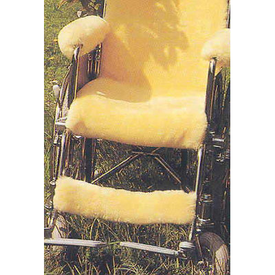 Rollstuhlauflage Lammfell