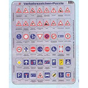 Verkehrzeichen-Puzzle