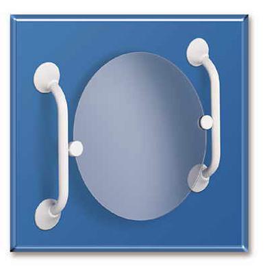 Sicherheitsgriff für Kippspiegelmontage