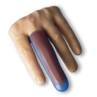 Fingerkorrekturhülsen und Fingerkappen