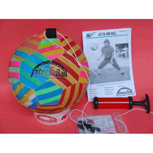 Trainingsball am Gummiband