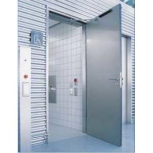 Drehtürsystem Geze TSA 160 für Behinderten-WC