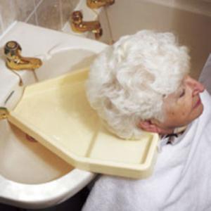 Haarwasch-Tablett für Waschbecken