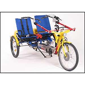 Doppel-Dreirad Twister