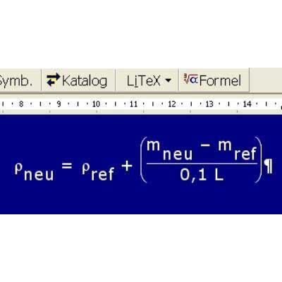 Formelprogramm LiTeX