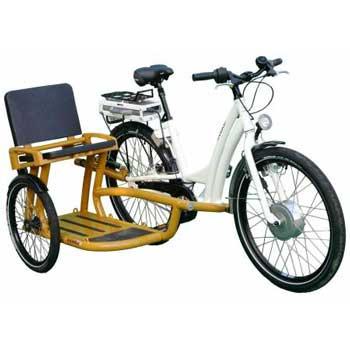 Elektro Seitenwagenfahrrad Smike Turbo